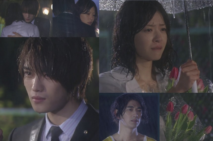 Sunao ni Narenakute Episode 4 Hero JaeJoong, Eita, Ueno Juri