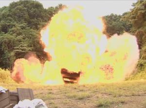 Gakeppuchi no Eri Episode 1 Explosion