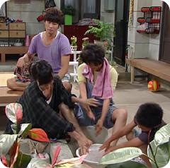 Lee Chun Hee, Bae Doo Na, Oh Hyun Kyung, Chun Bo Geun